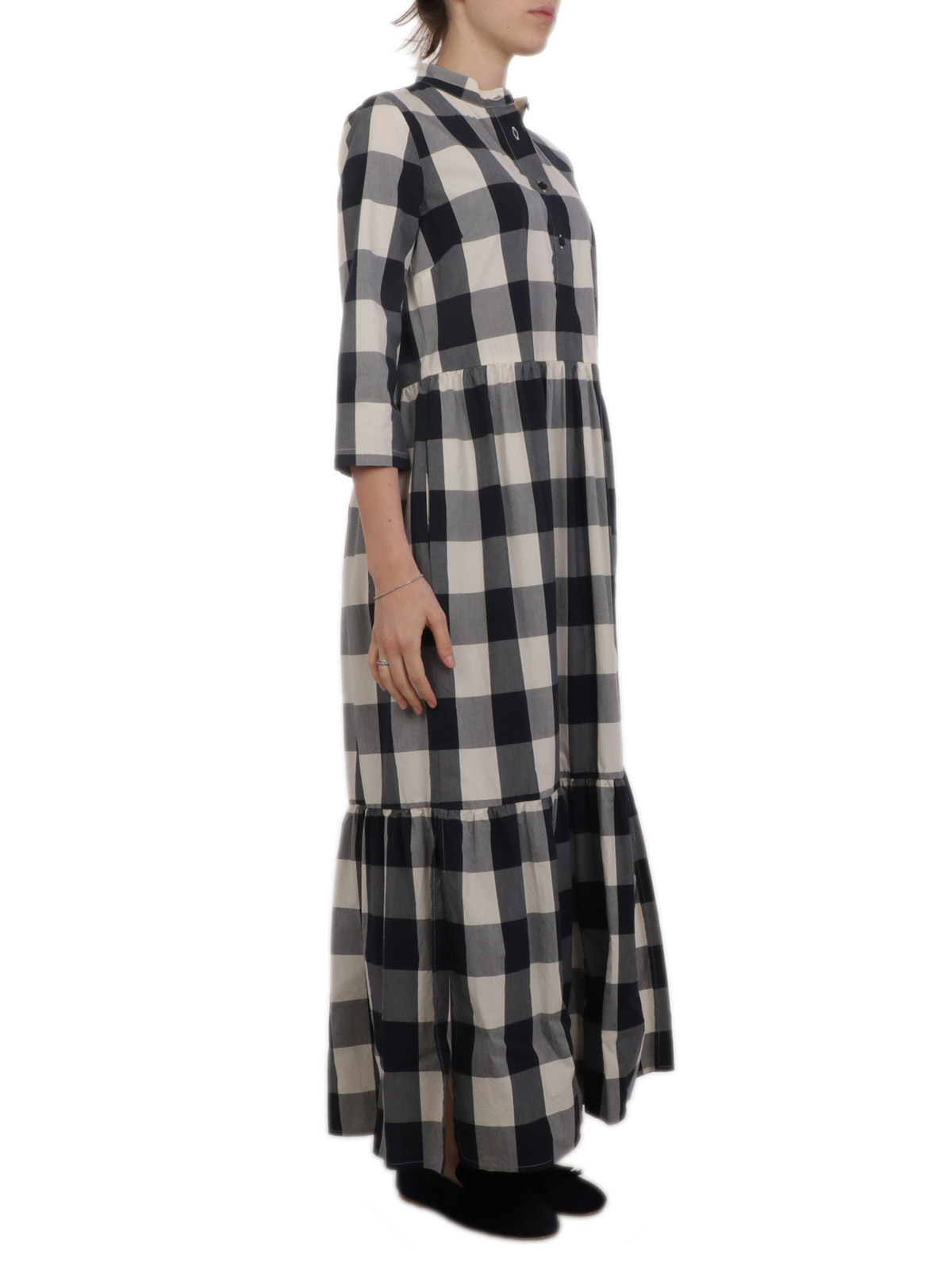 Picture of WOOLRICH | Women's Checked Long Dress