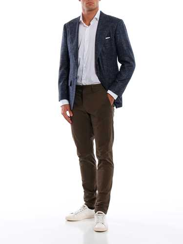 Picture of KITON | Men's Evo Silk Blazer