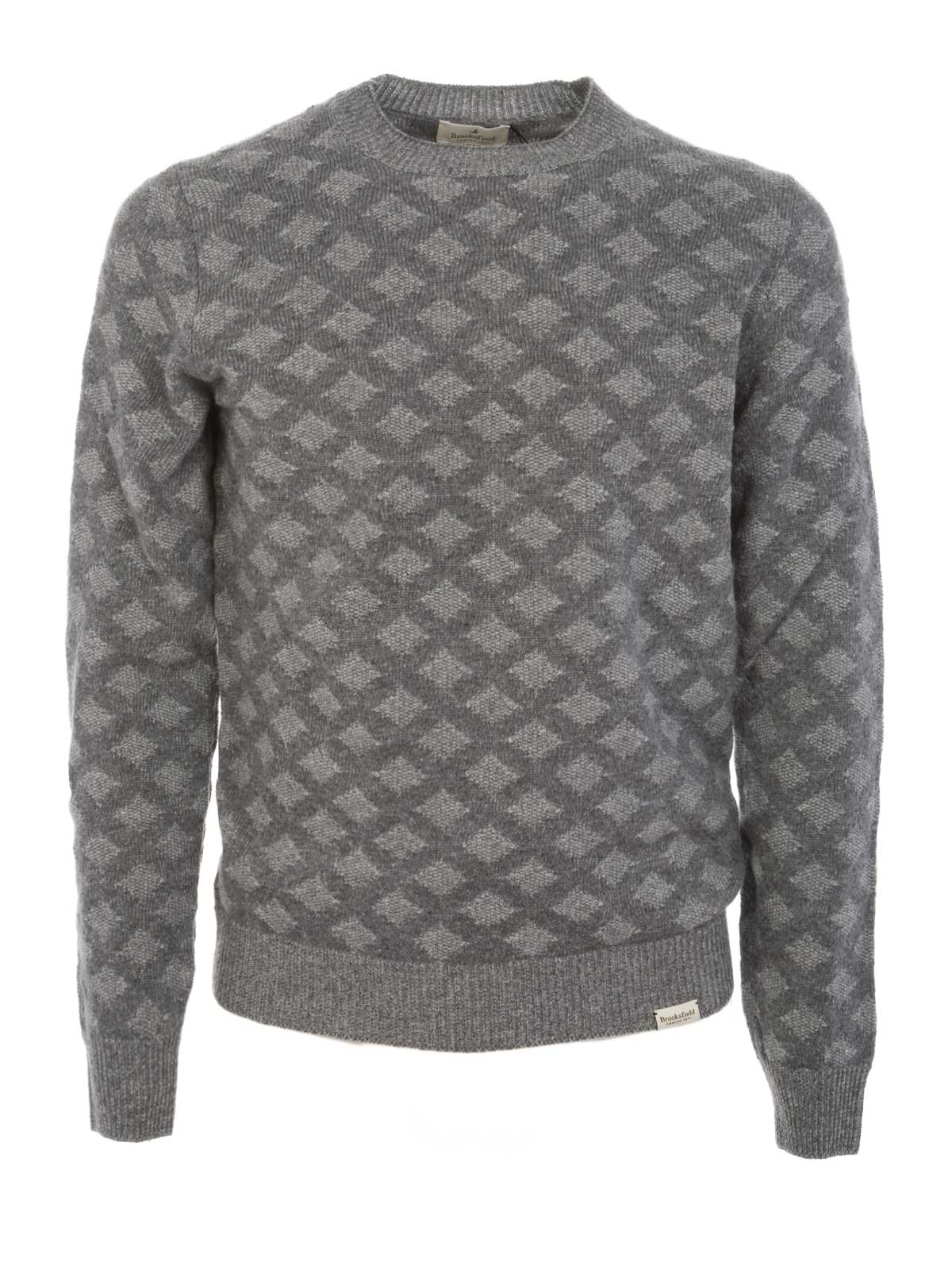 Picture of BROOKSFIELD | Diamonds Crewneck Sweater
