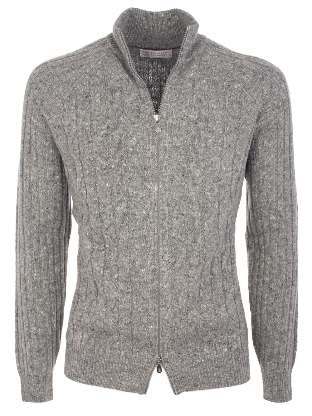 Picture of BRUNELLO CUCINELLI | Braided Cardigan
