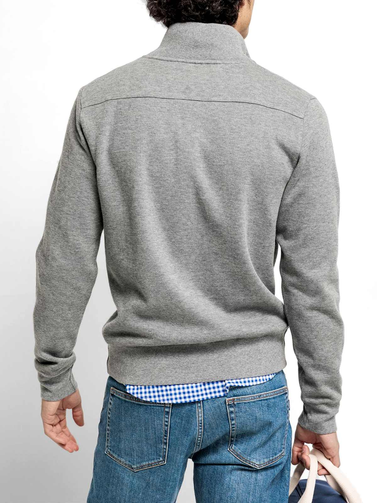 Picture of GANT | Felpe D1. SACKER RIB HALF ZIP