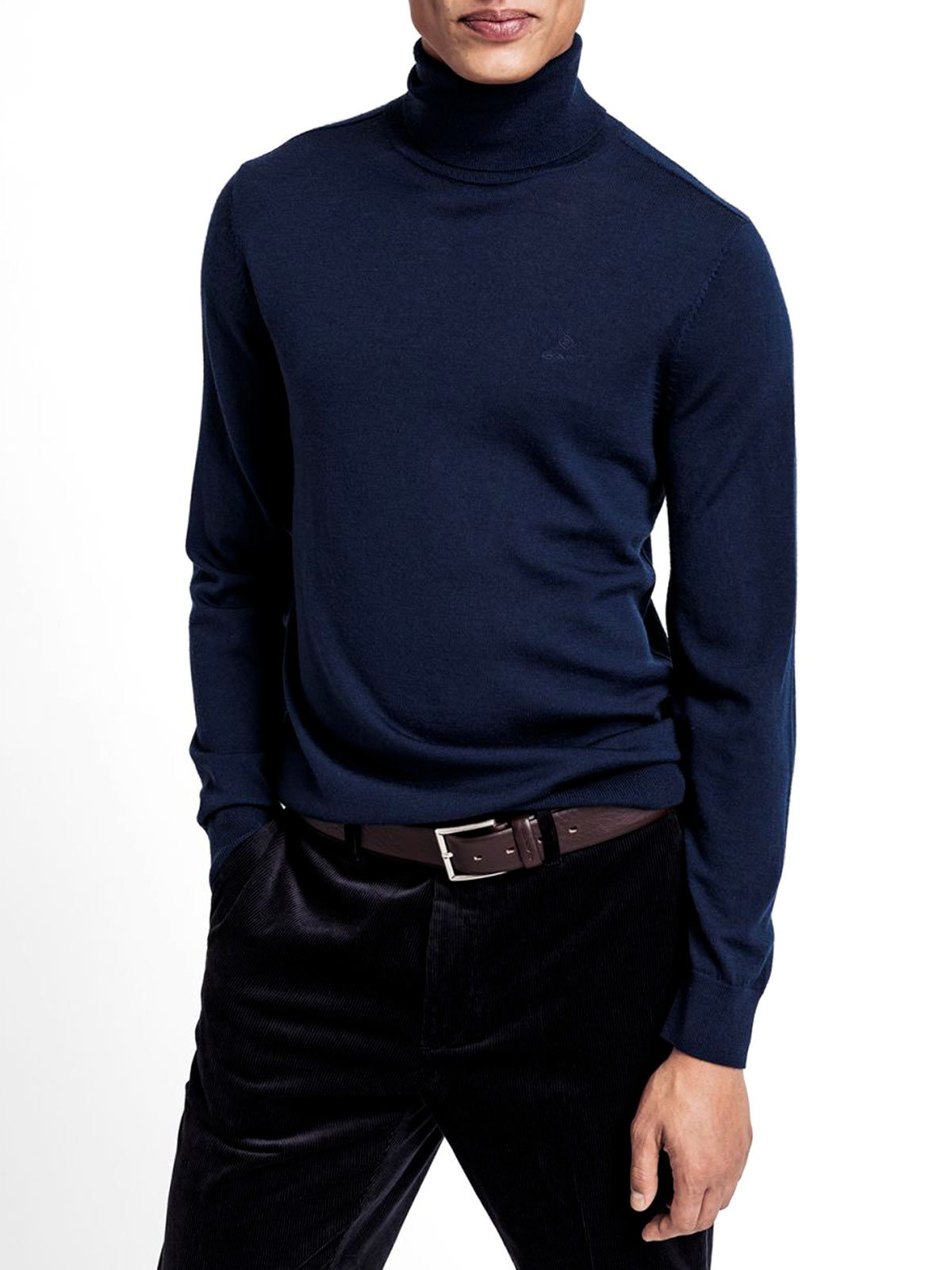 Picture of GANT | JERSEY D1. WASHABLE MERINO TURTLENECK