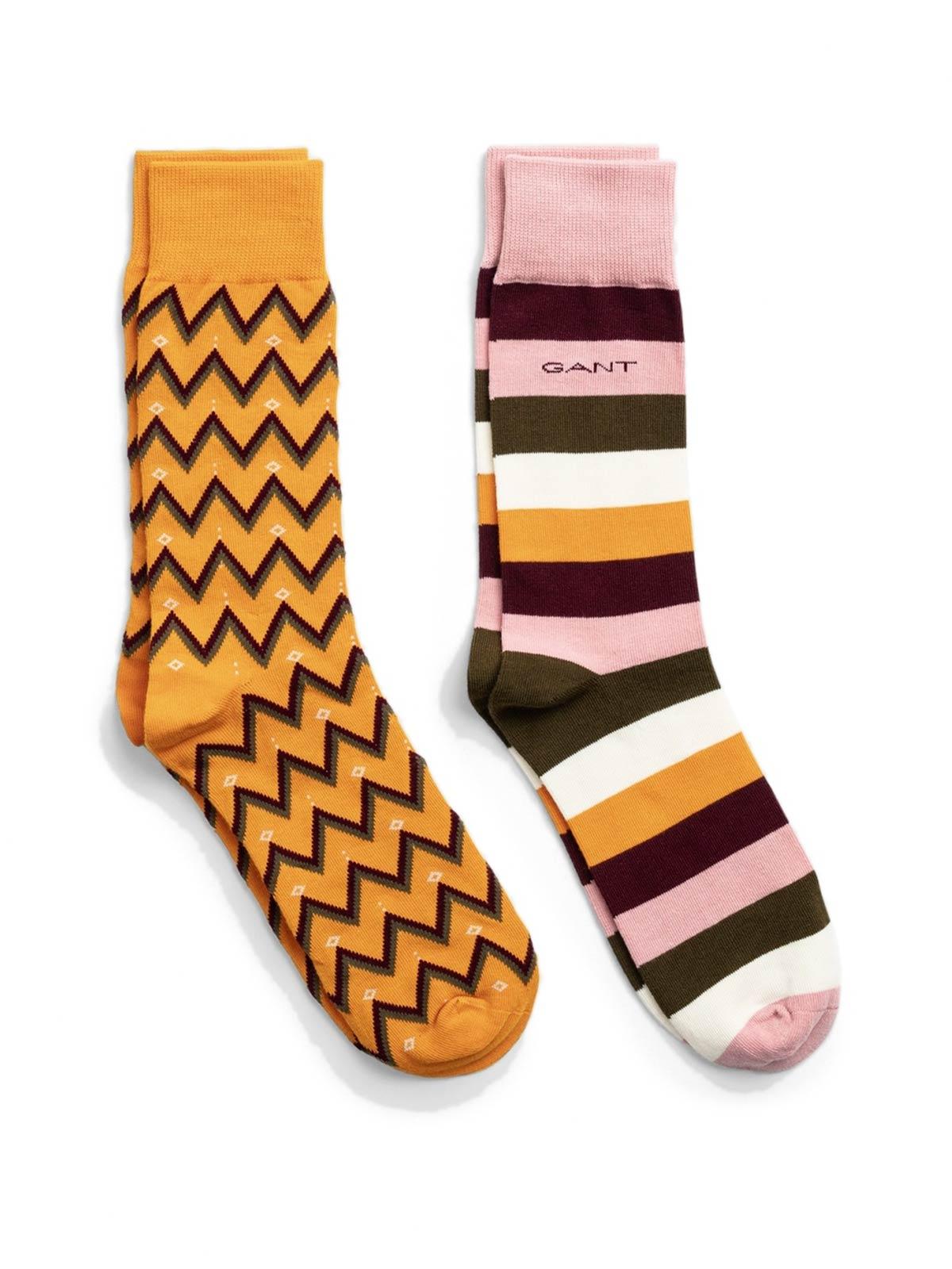 Picture of GANT | Men's Socks 2-Pack Fair Isle