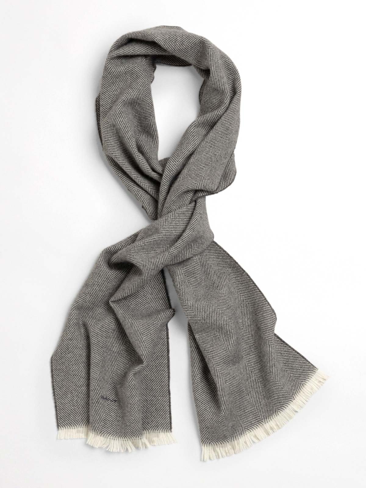 Picture of Gant | Scarf D1. Herringbone Wool Scarf