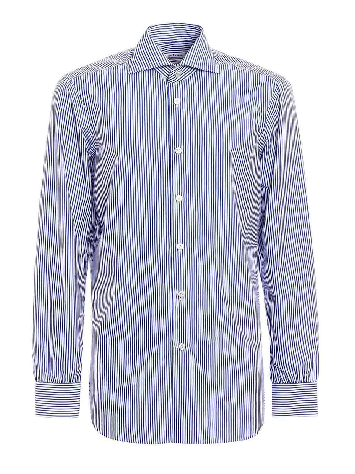 Picture of KITON | Men's Striped Classic Shirt