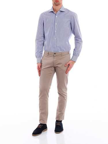 Immagine di KITON | Camicia Uomo Classica Righe