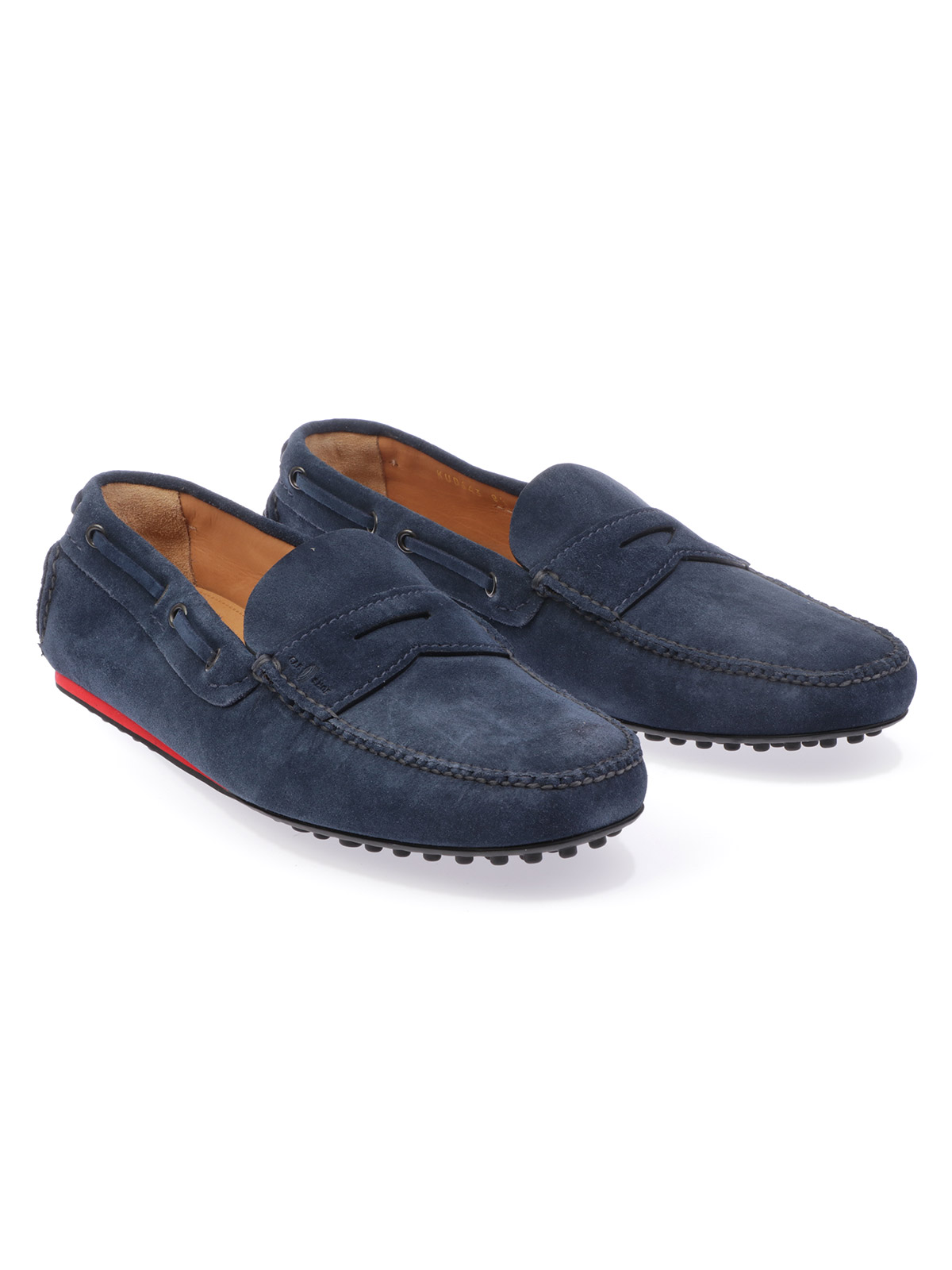 Picture of CAR Shoe | Men's Calf Suede Driving Shoe