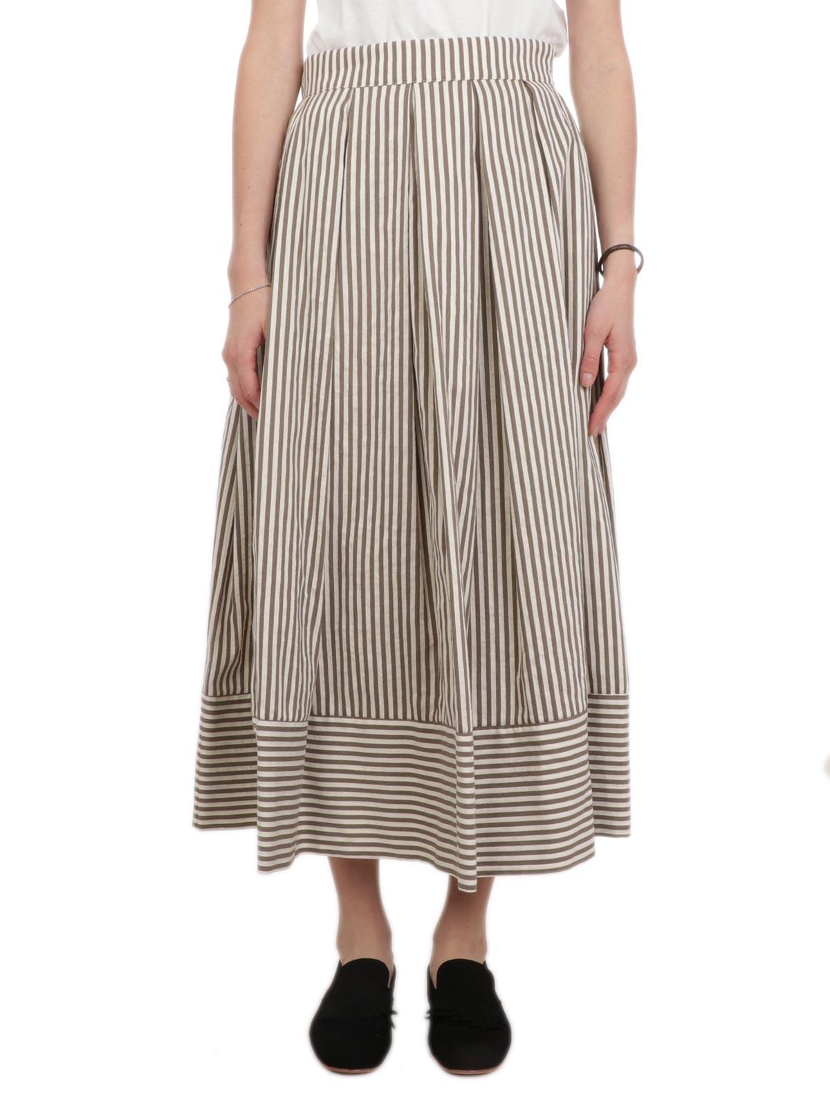 Picture of 19.61   Women's Striped Miranda Skirt