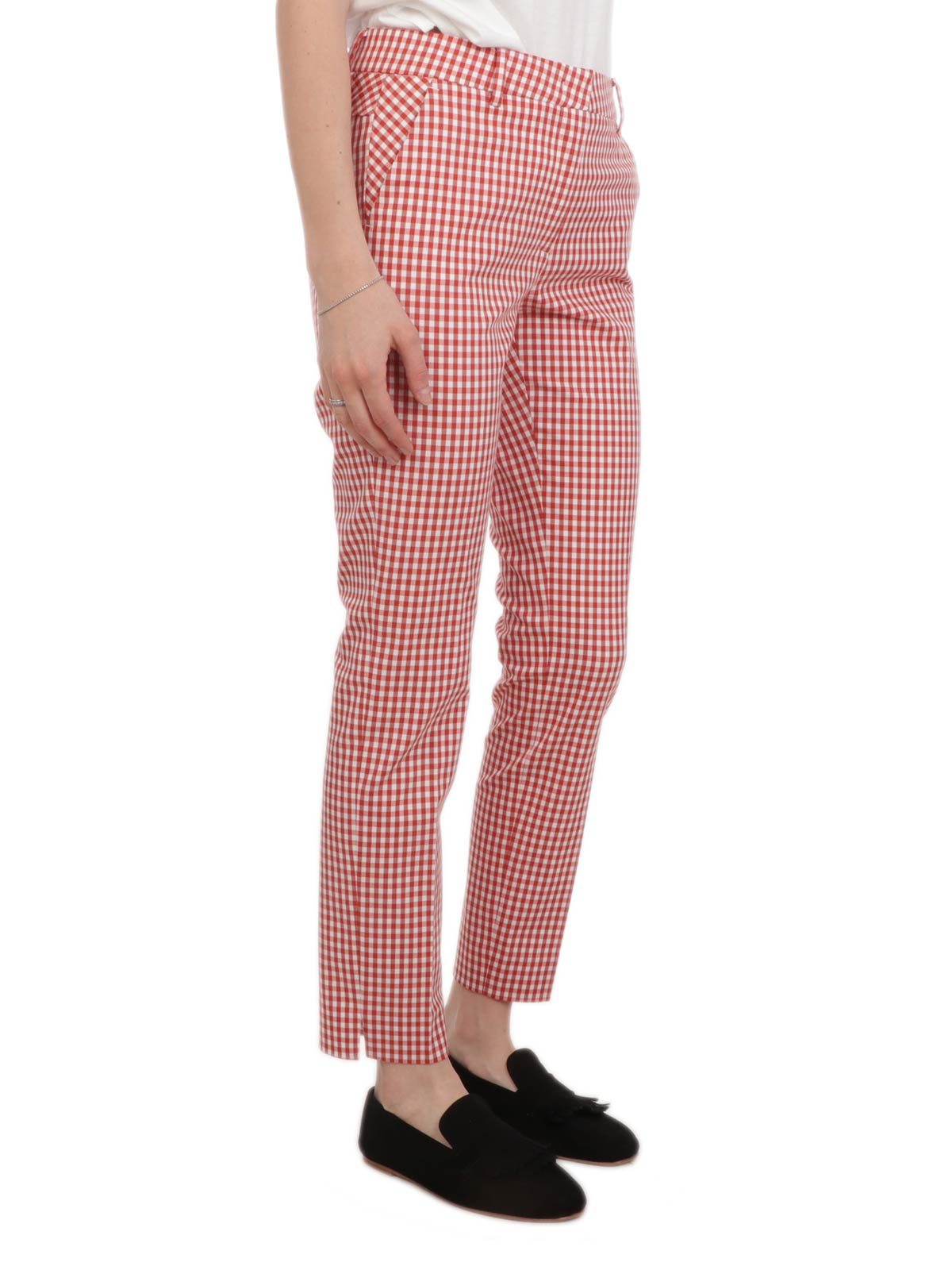 Picture of VIA MASINI 80 | Women's Checkered Trousers