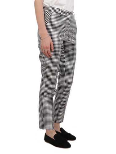 Picture of VIA MASINI 80 | Women's Checkered Trousers