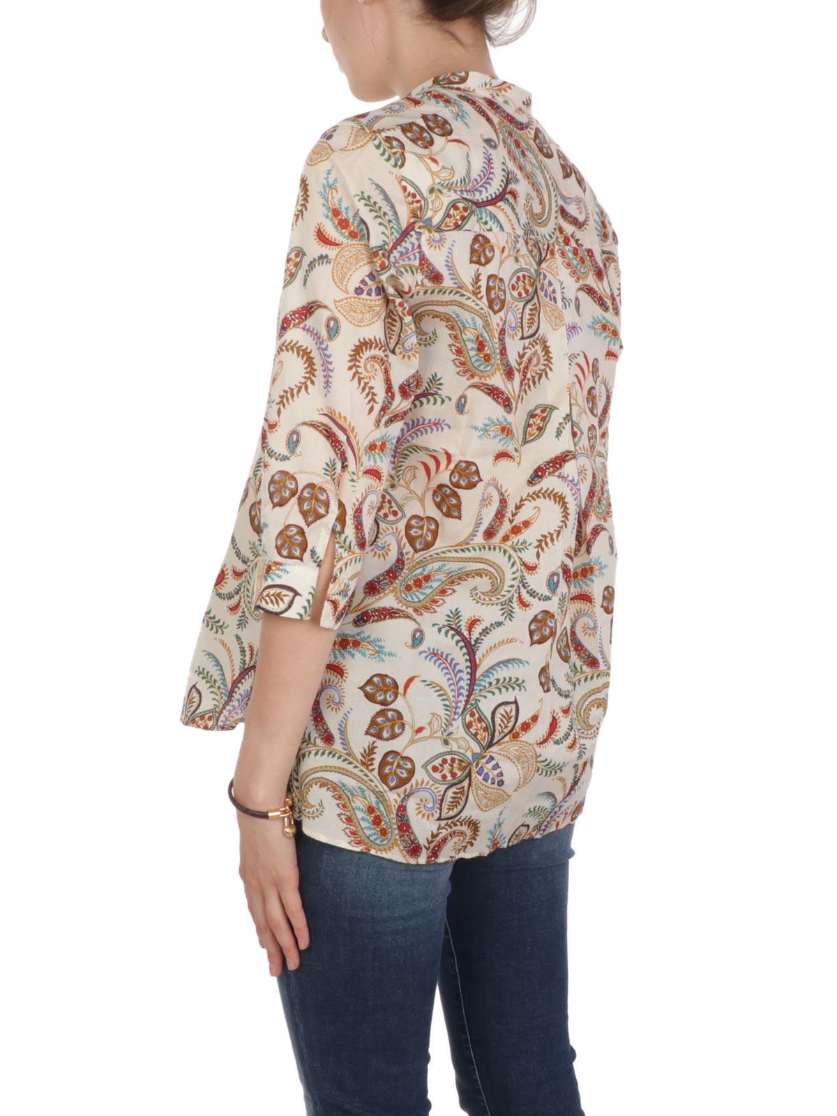 Immagine di CALIBAN | Camicia Donna Coreana Floreale