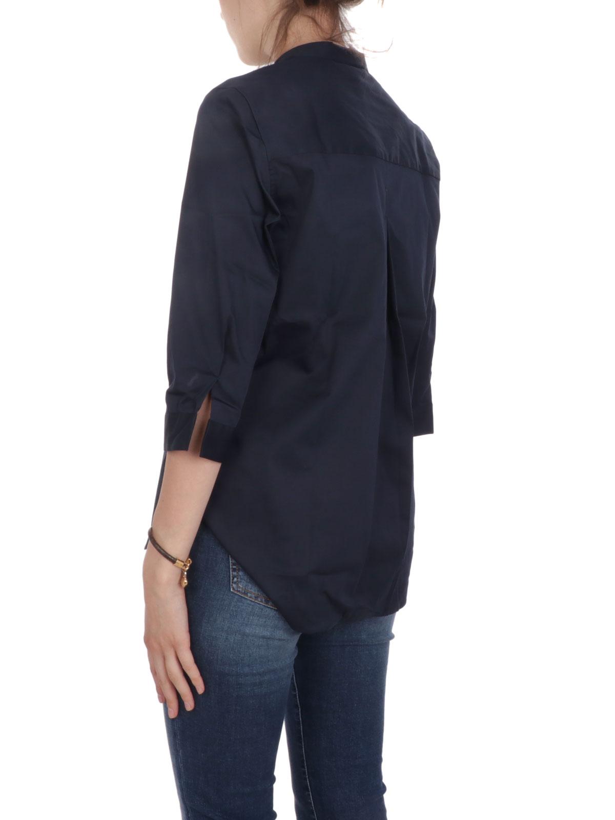 Picture of CALIBAN   Women's Mandarin Collar Shirt