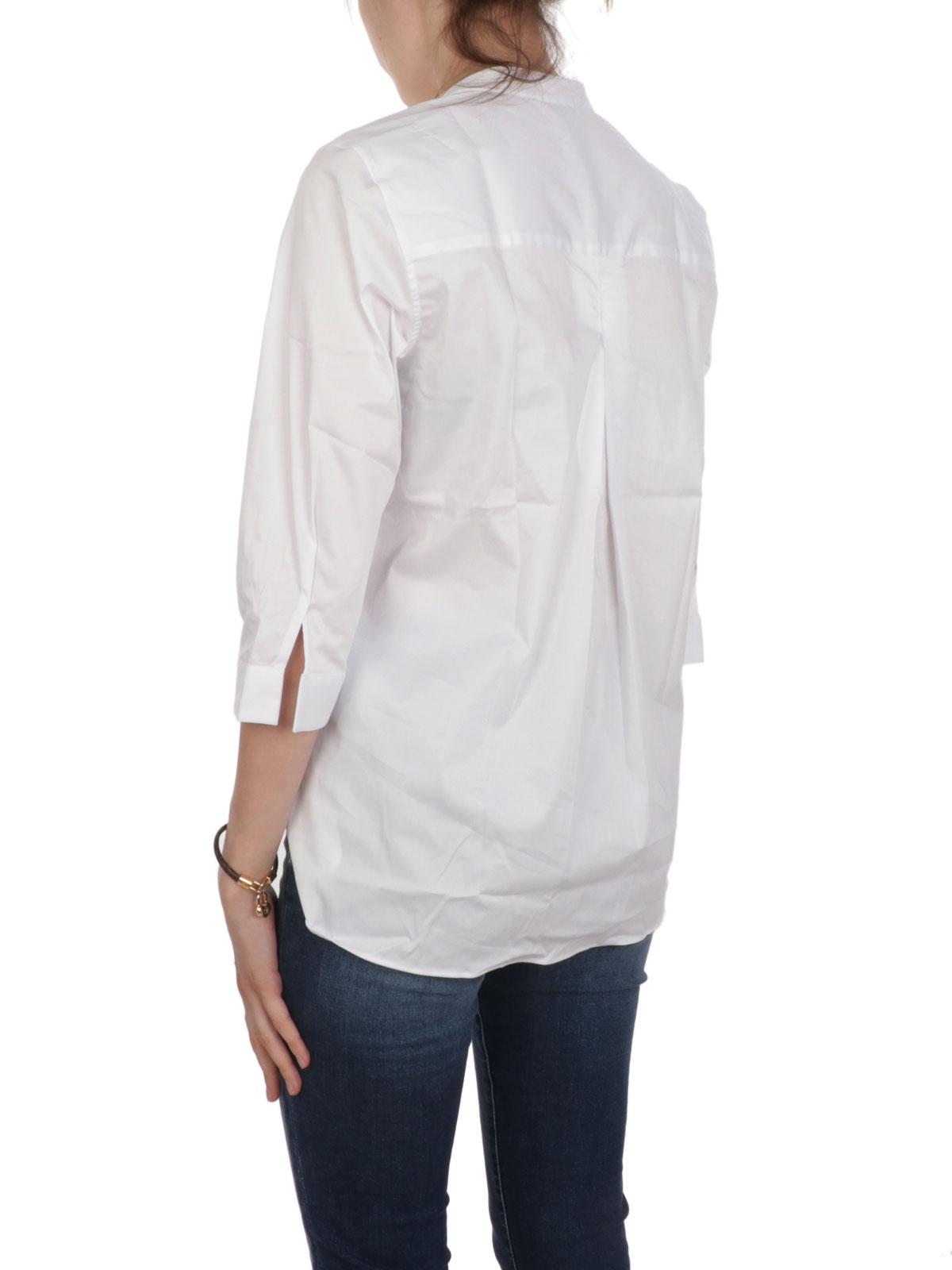 Picture of CALIBAN | Women's Mandarin Collar Shirt