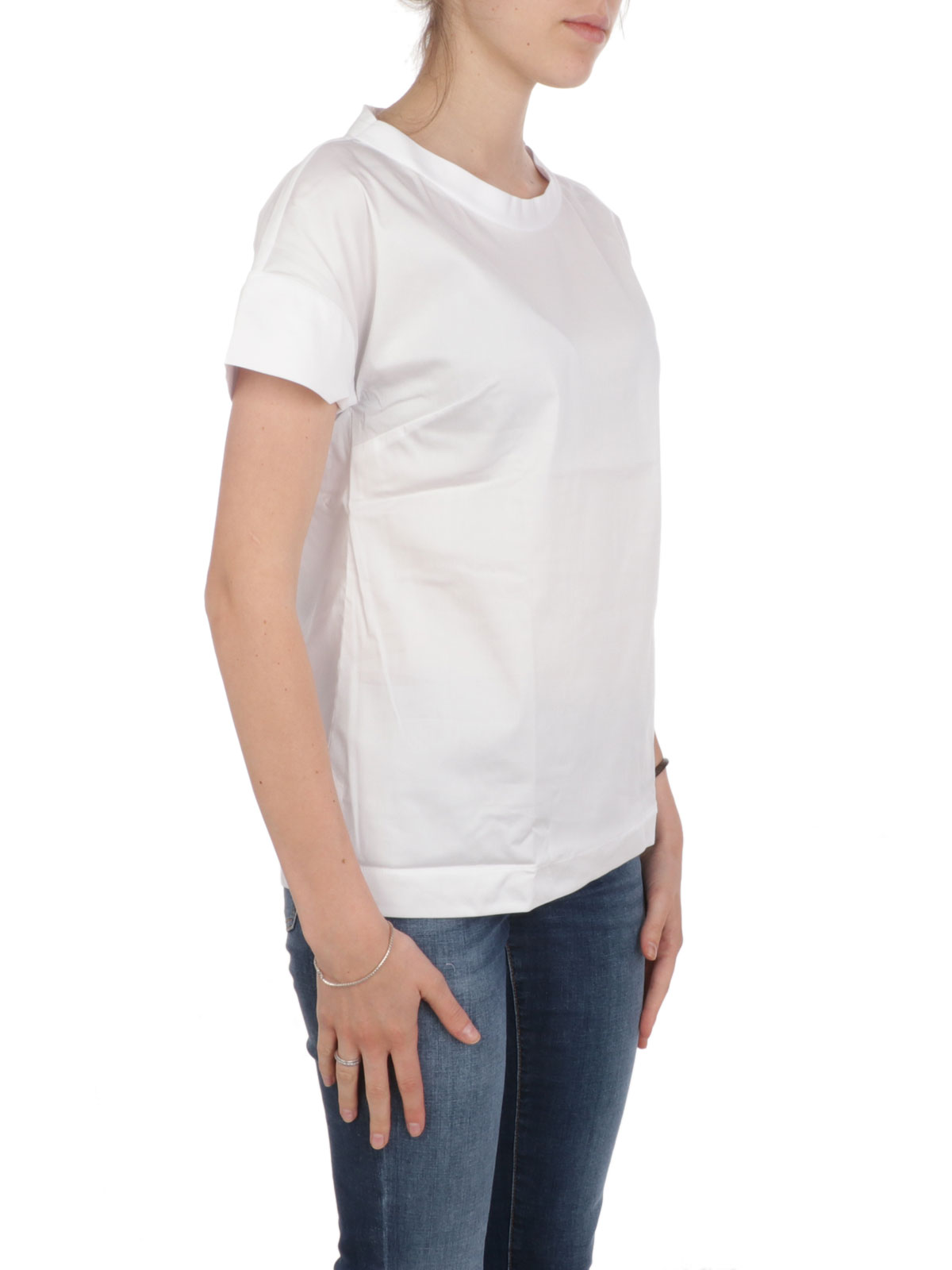 Picture of CALIBAN | Women's Wide Crewneck Shirt