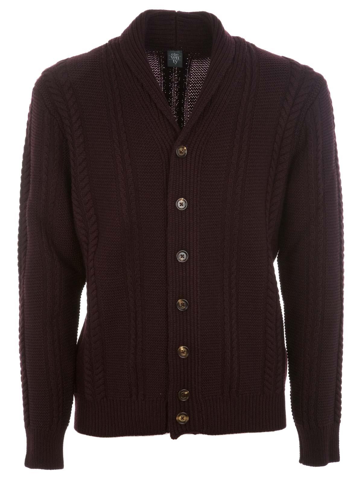 Picture of ELEVENTY | Virgin Wool Cardigan Sweater