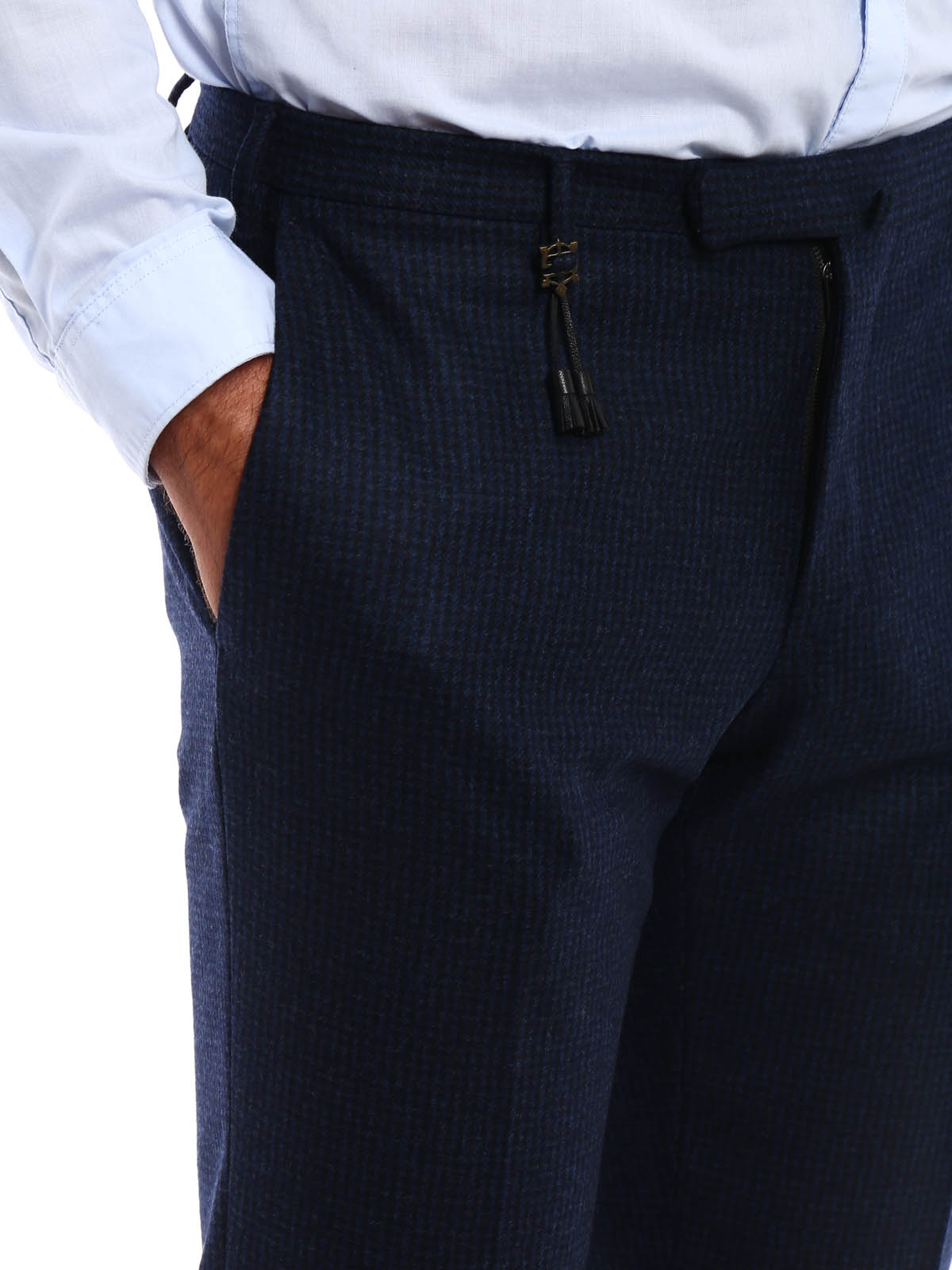Picture of INCOTEX | Flannel Trousers