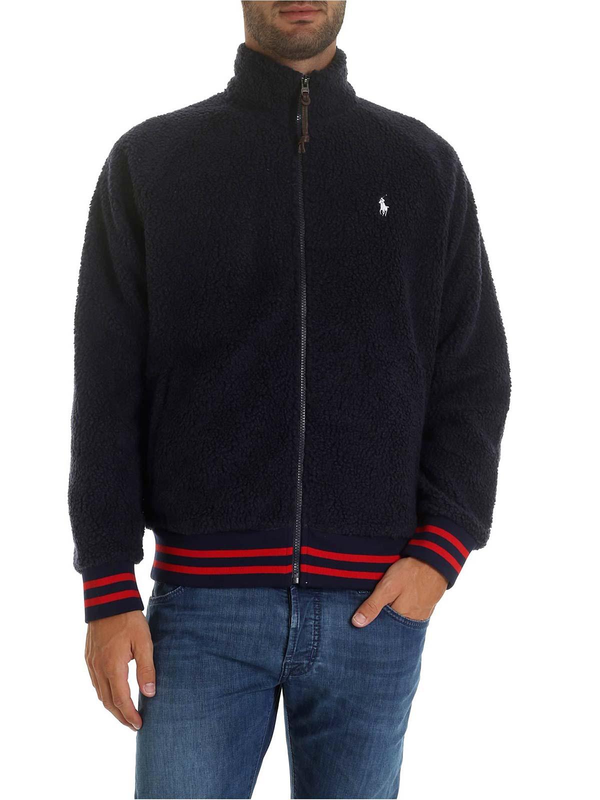 Picture of POLO RALPH LAUREN   Men's Teddy-Effect Sweatshirt