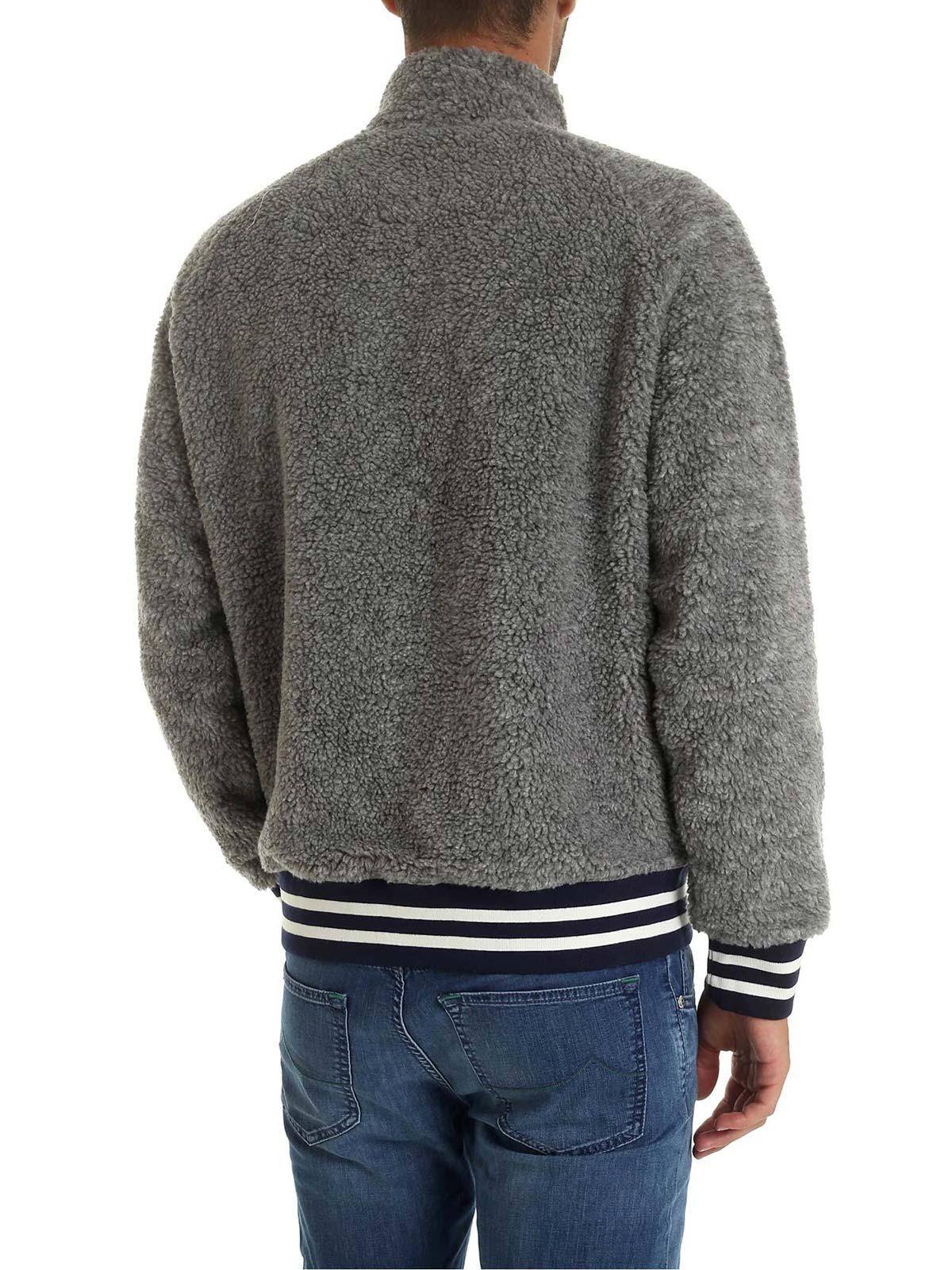 Picture of POLO RALPH LAUREN | Men's Teddy-Effect Sweatshirt