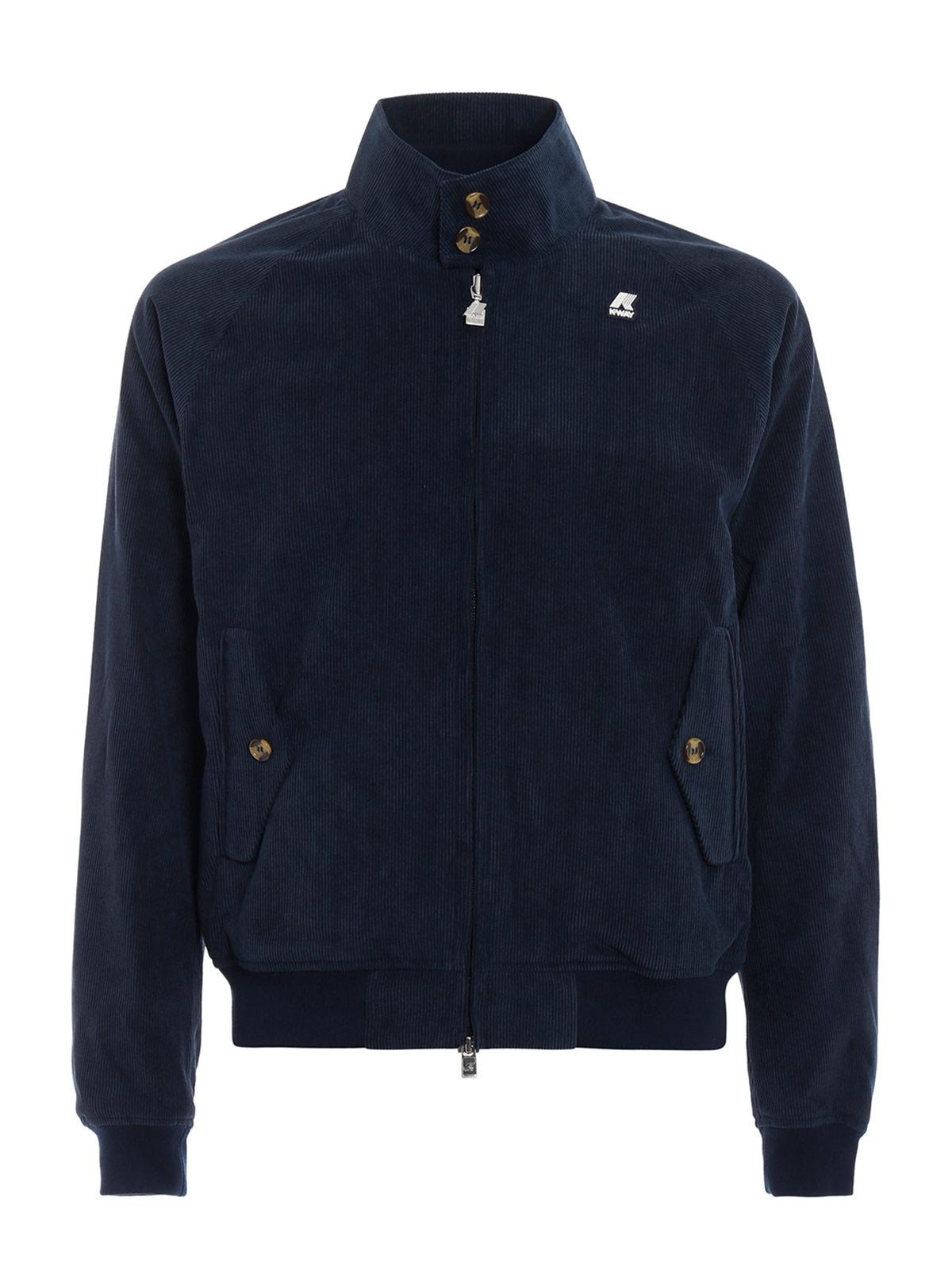 Picture of K-WAY | Men's London Corduroy Jacket
