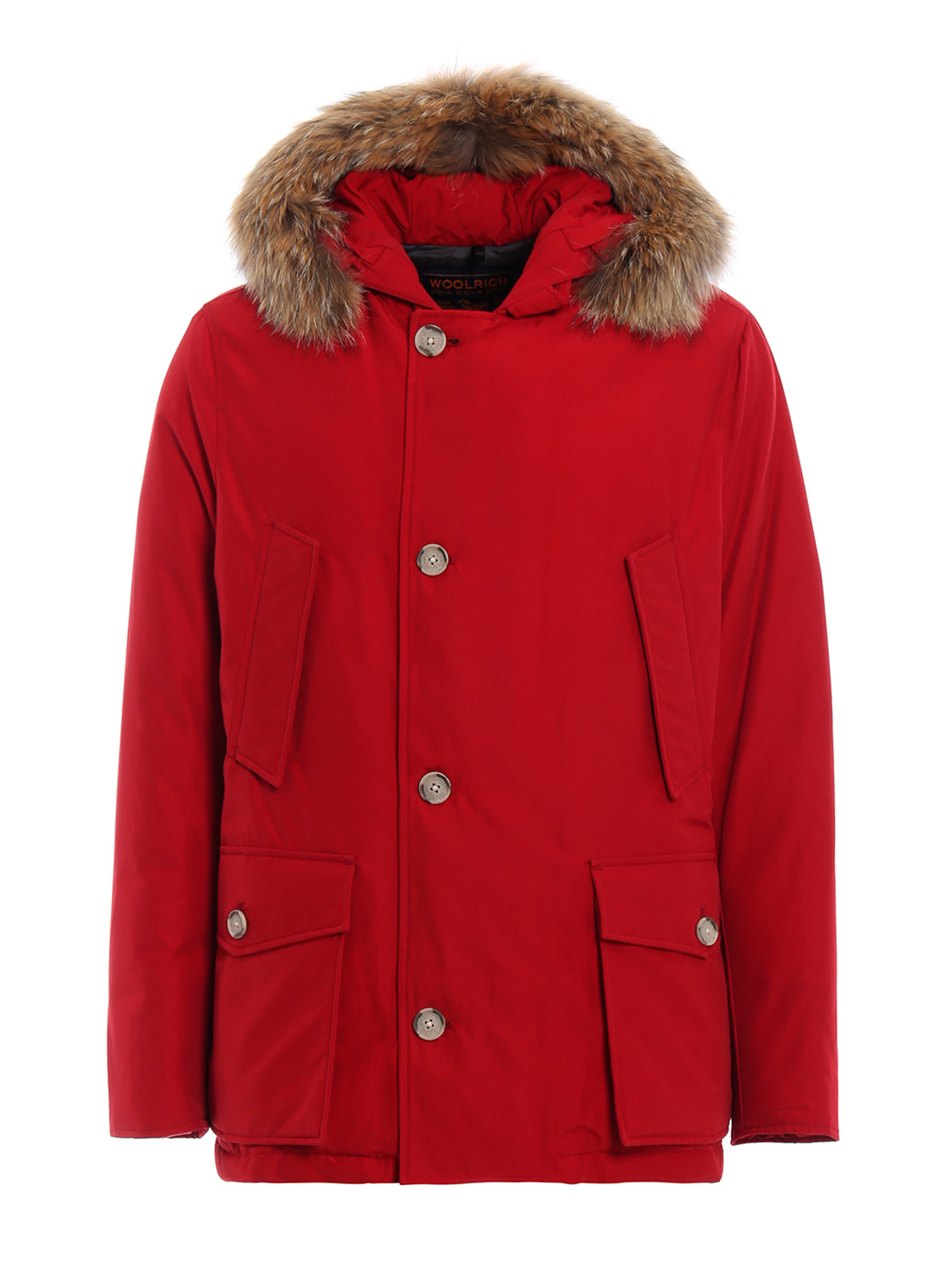 aac09623676e WOOLRICH Men's Arctic Anorak Parka Red | WOCPS2739 | Botta & B ...
