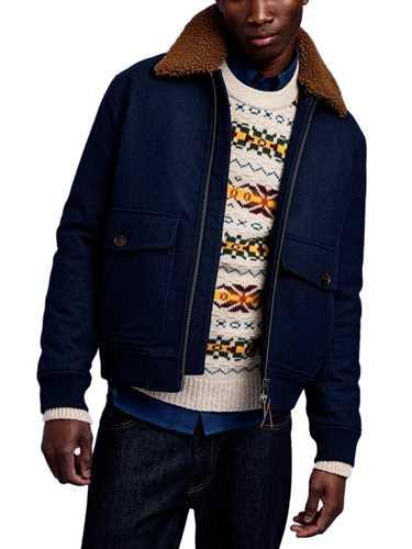 Picture of Gant | Giubbotti D2. Wool Flight Jacket