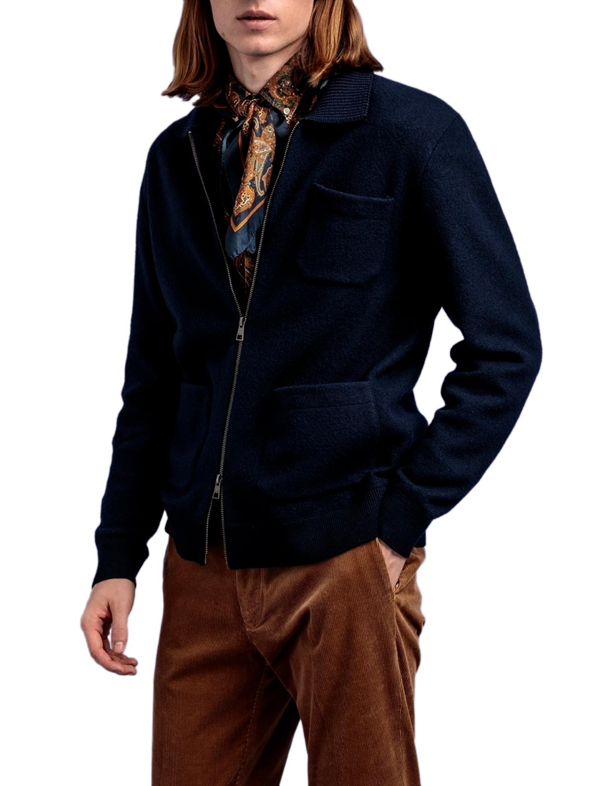 Picture of Gant | Jersey D2. Boiled Knitted Jacket
