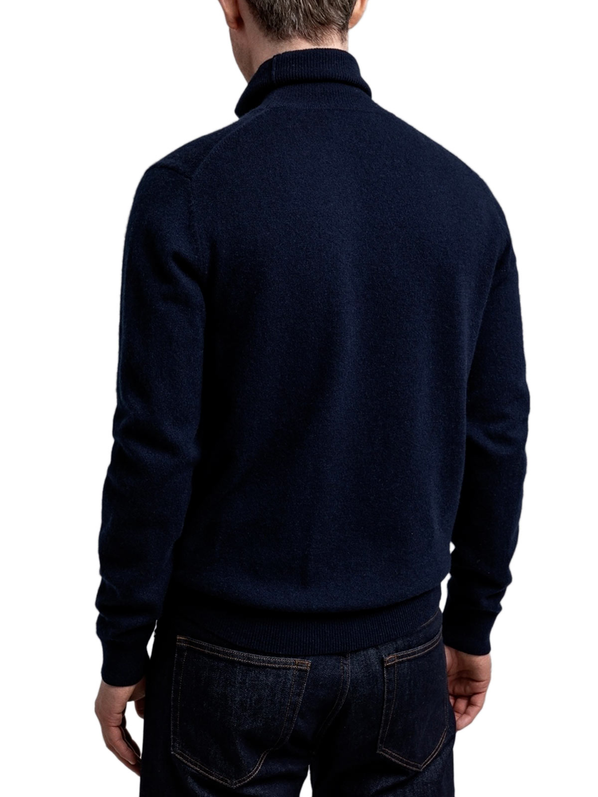 Picture of Gant | Jersey D1. Wool Cashmere Turtleneck