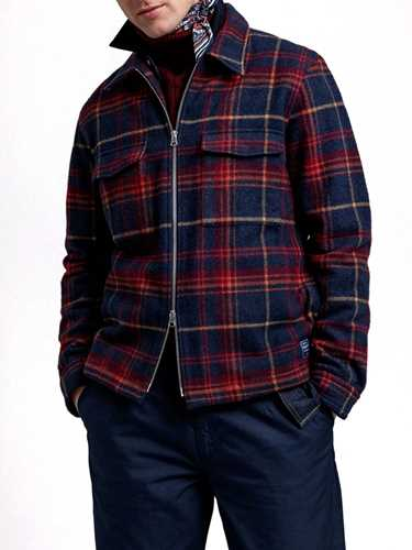 Picture of Gant | Camicie D2. Wool Blend  Overshirt