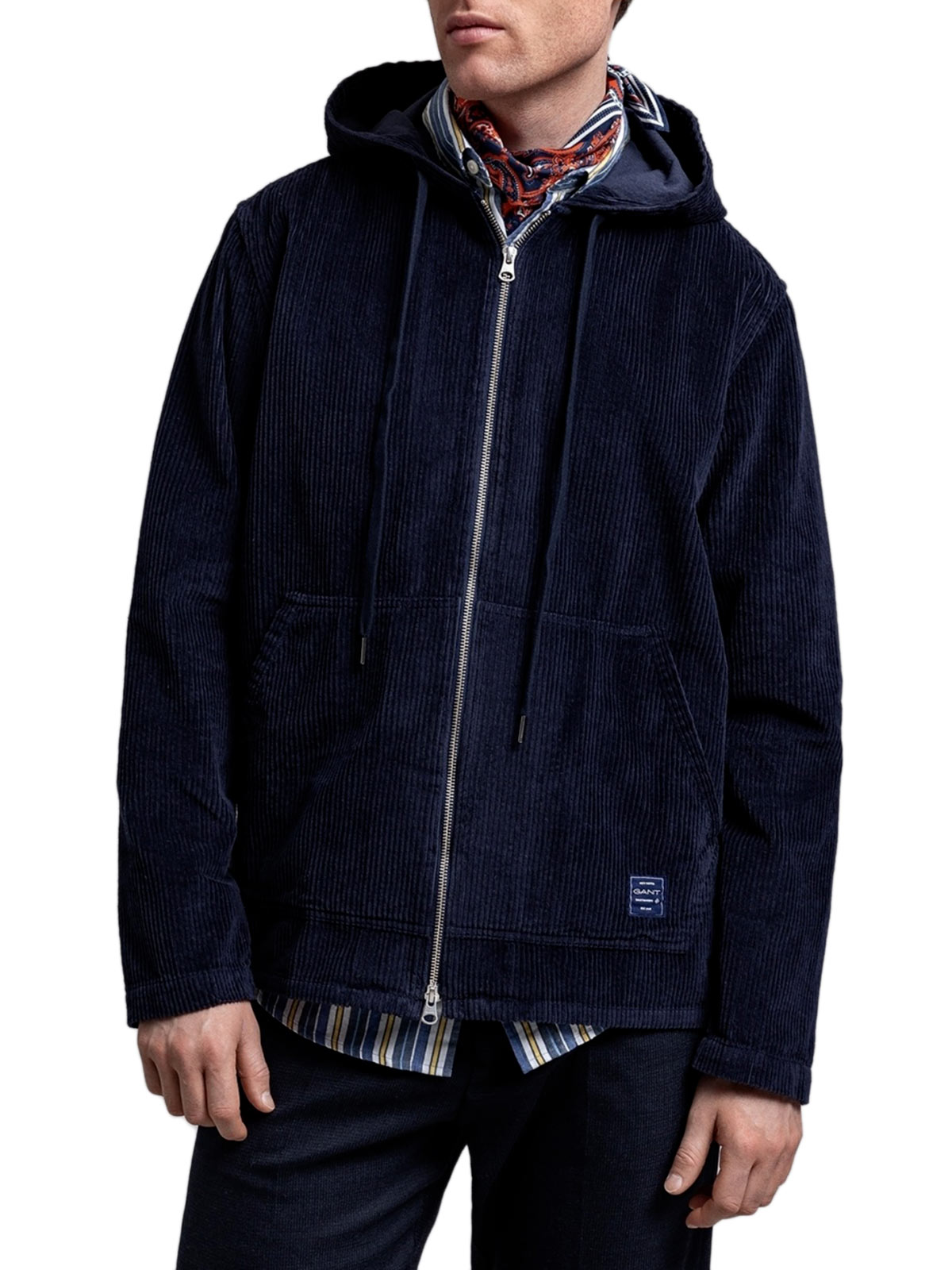 Picture of Gant   Jersey D1. Corduroy Hood Shirt