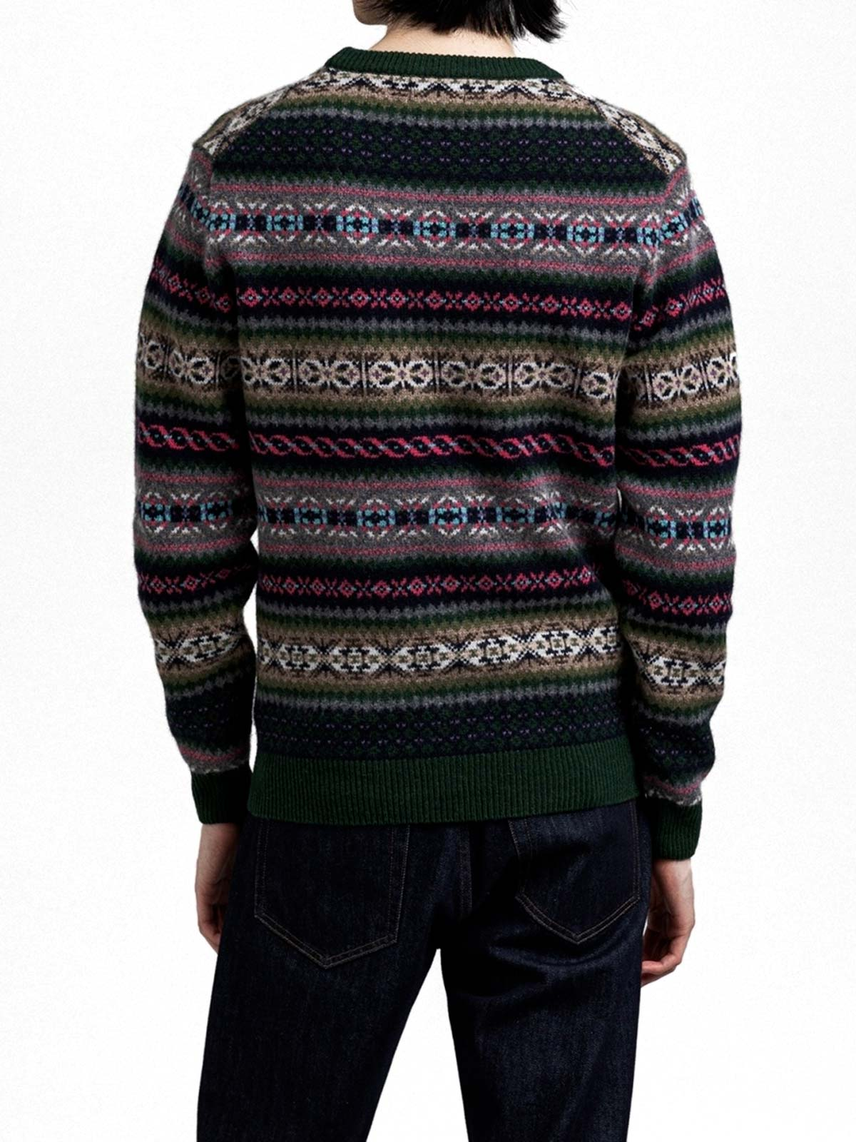 Picture of Gant | Jersey D2. Fair Isle Crew