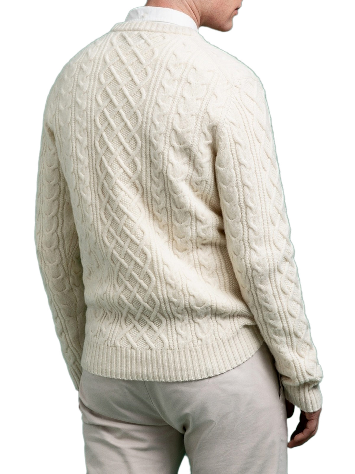 Picture of Gant | Jersey D2. Aran Cable Crew