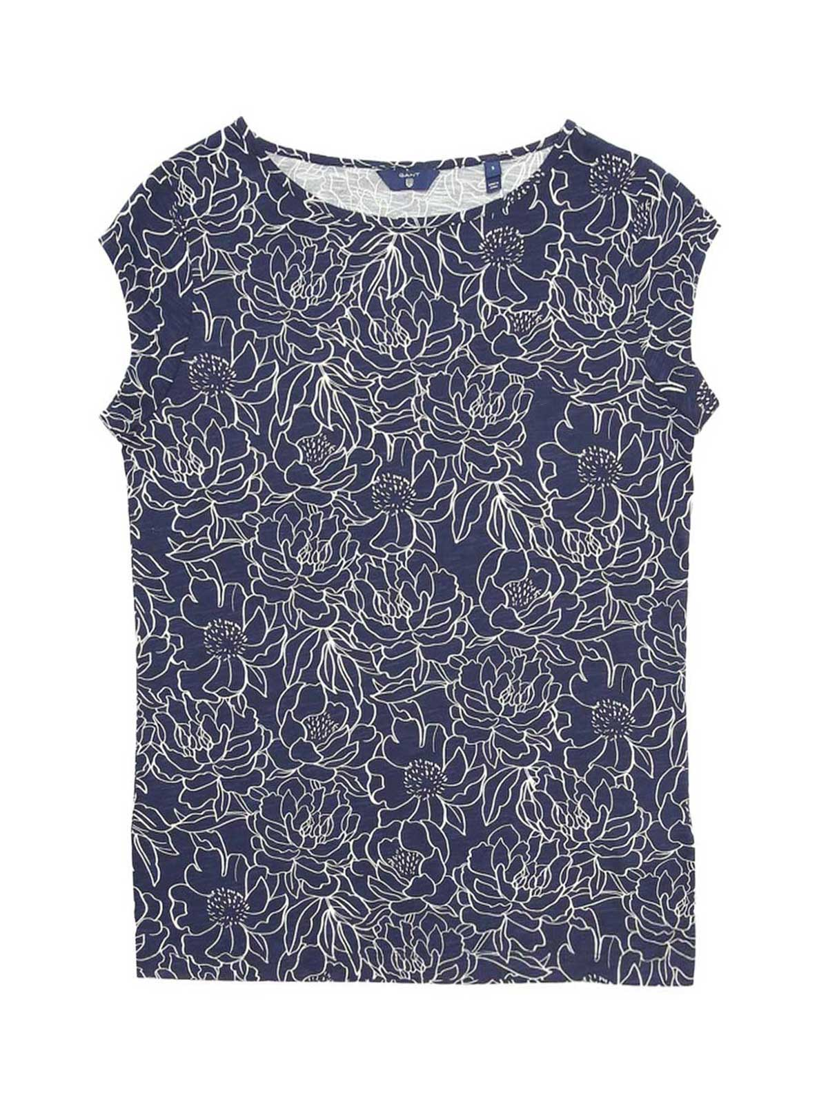 Picture of GANT | Women's Flowers T-shirt