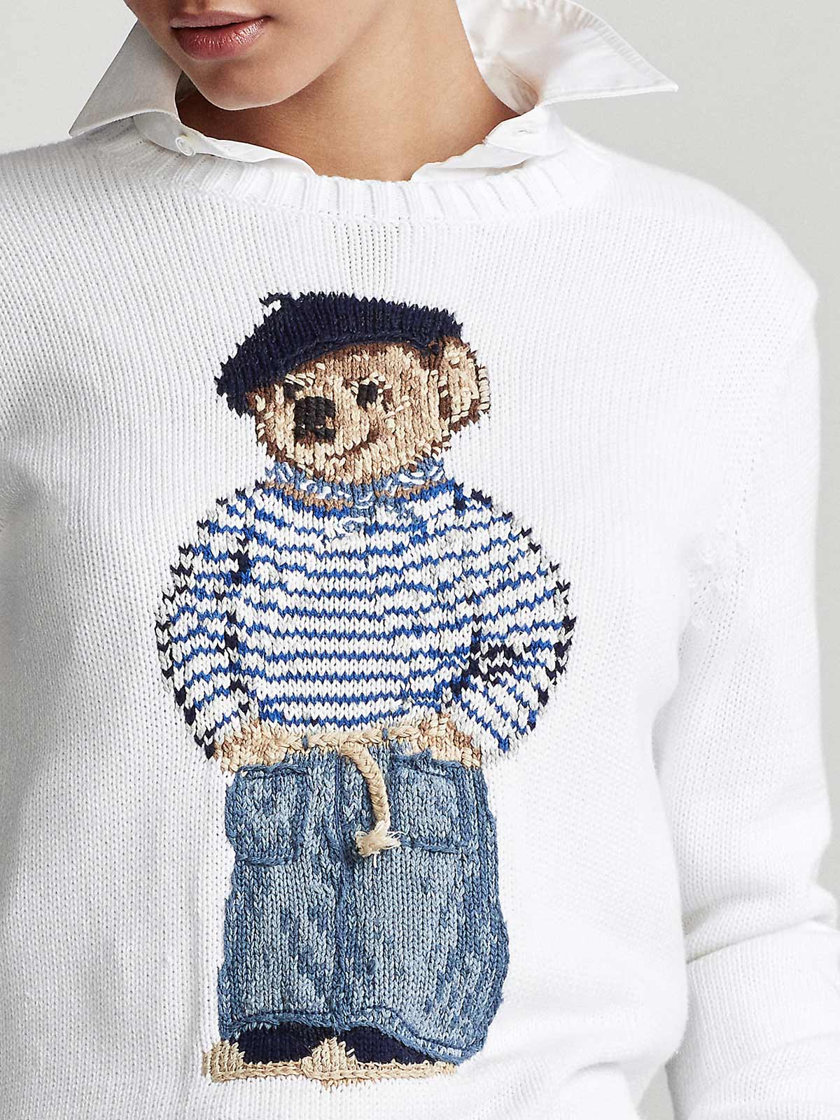 Picture of POLO RALPH LAUREN | Women's Polo Bear Jumper