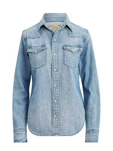Immagine di POLO RALPH LAUREN | Camicia Donna Western in Denim