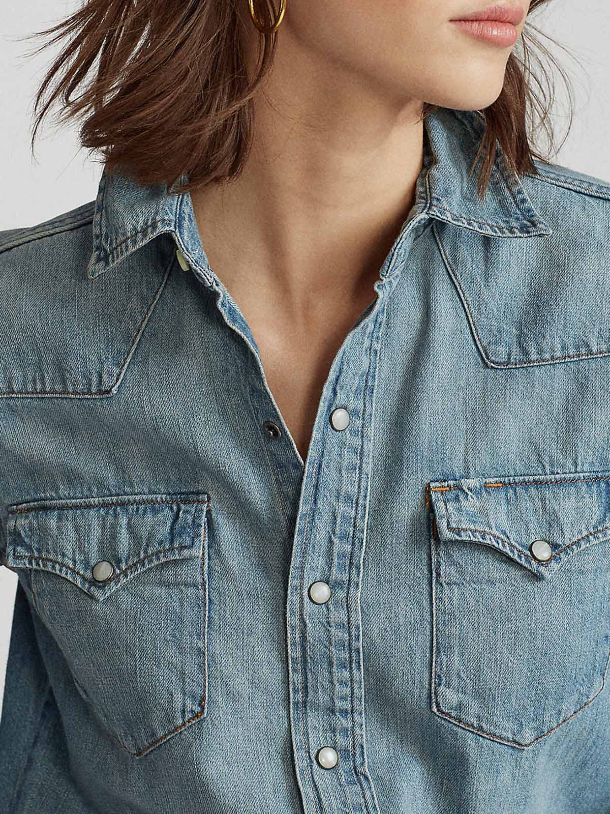 Picture of POLO RALPH LAUREN | Women's Denim Western Shirt