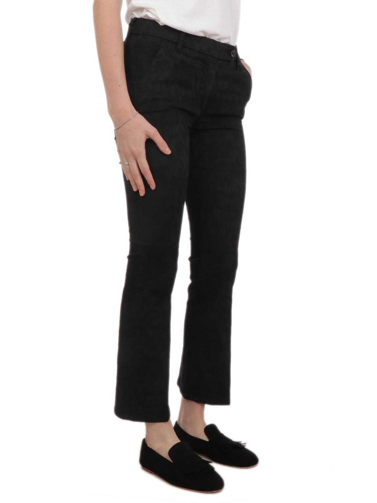Picture of VIA MASINI 80 | Women's Embroidered Trousers