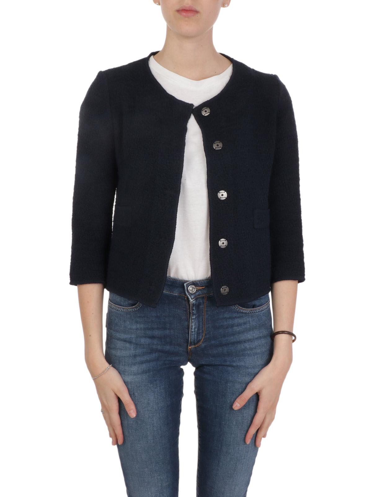 Picture of BASE | Women's Cotton Chanel Blazer