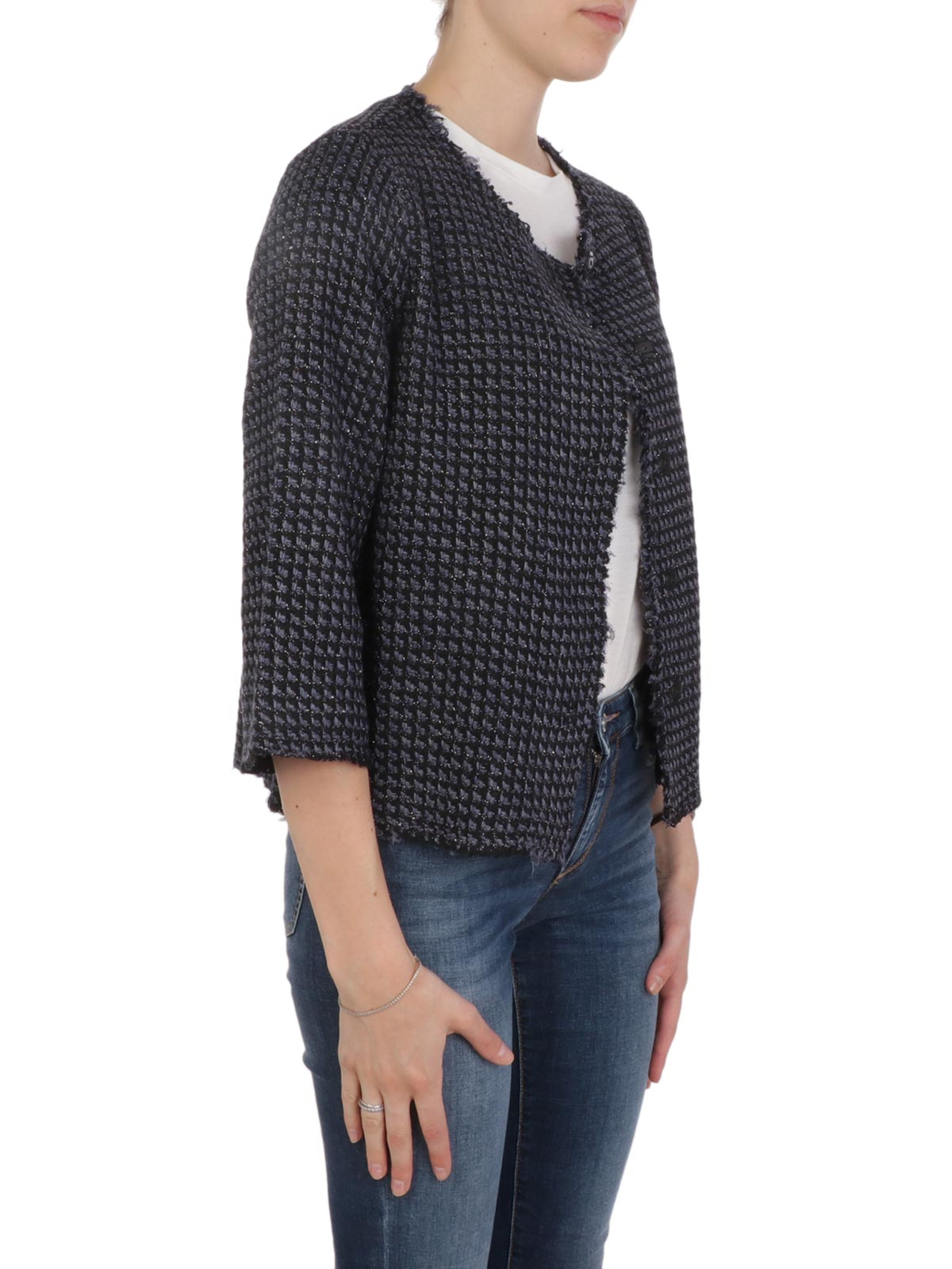 Picture of BASE | Women's Viscose Chanel Blazer