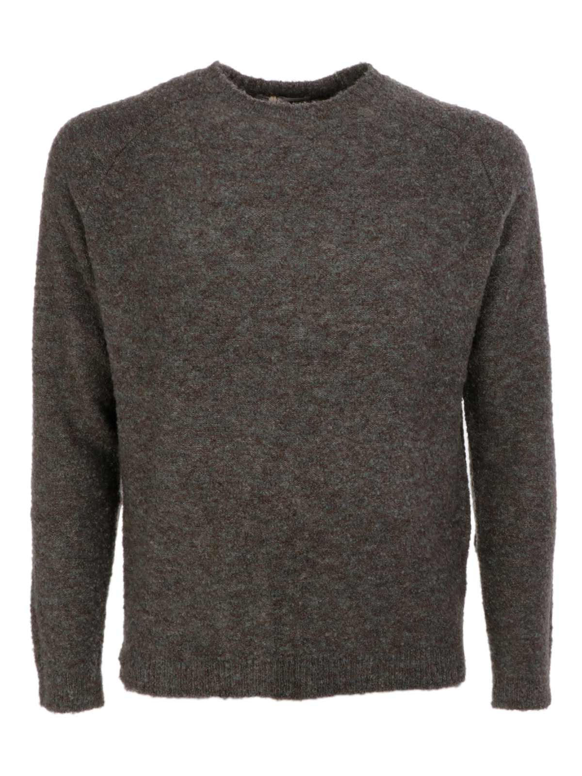 Picture of JAGGY | Men's Melange Wool Sweater