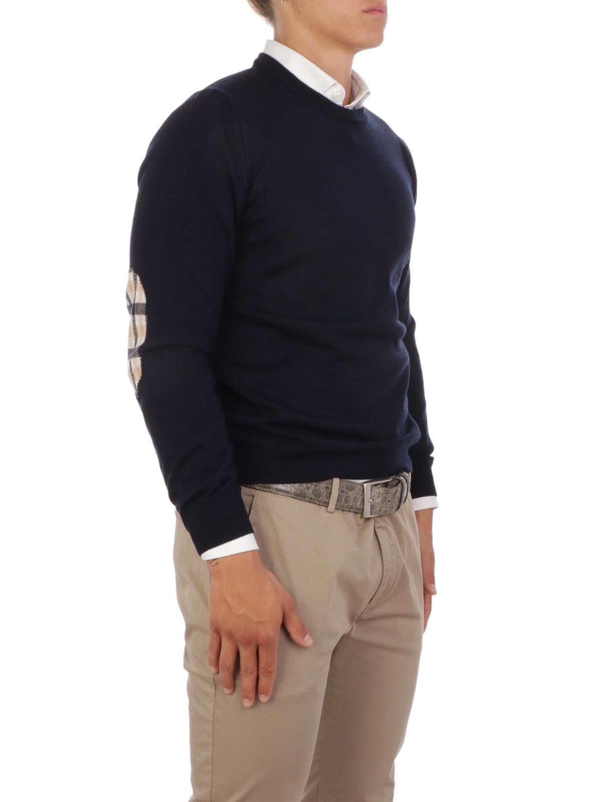 Immagine di AQUASCUTUM   Pullover Uomo Girocollo in Lana