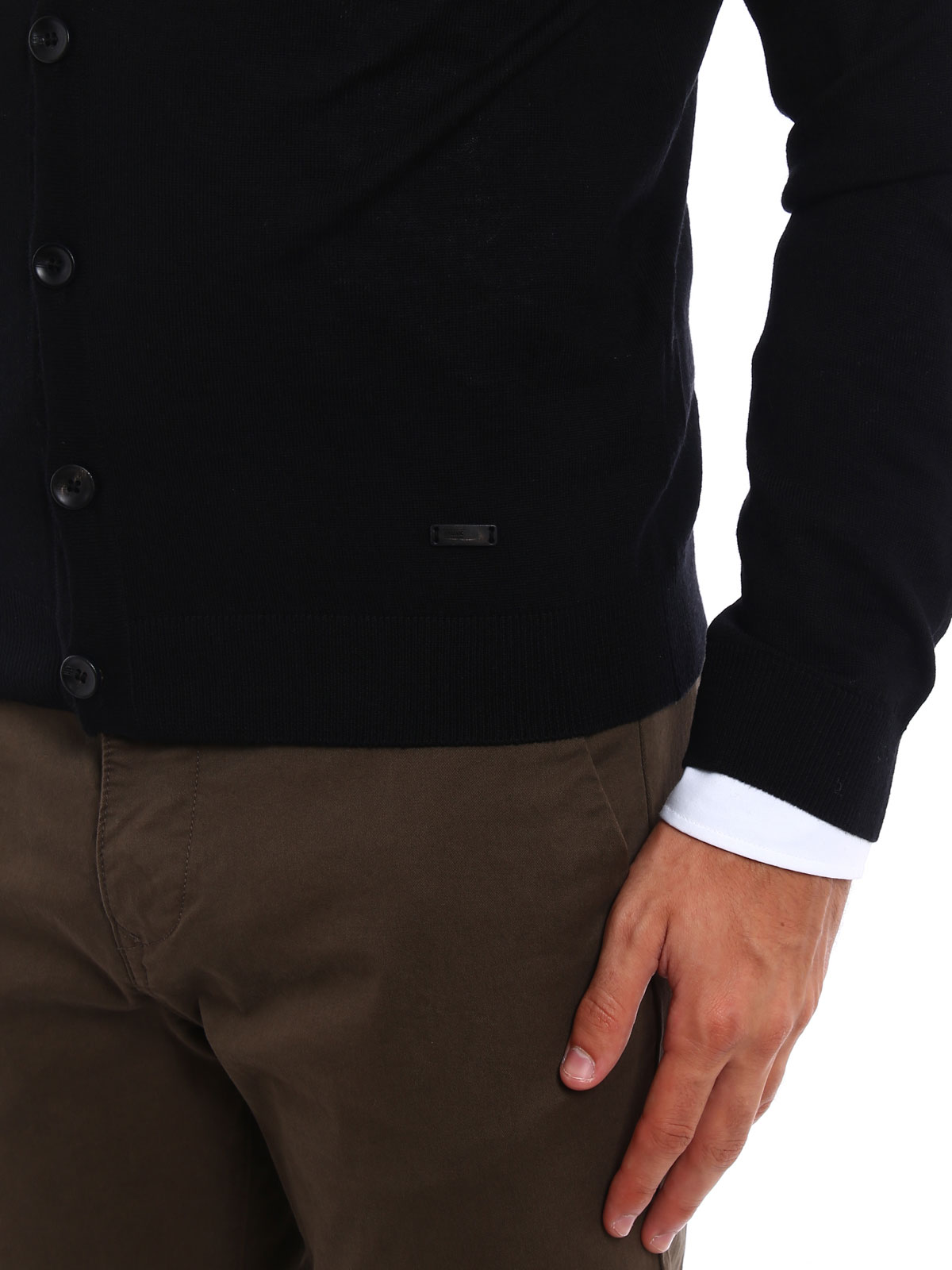 Picture of ARMANI | Wool Cardigan