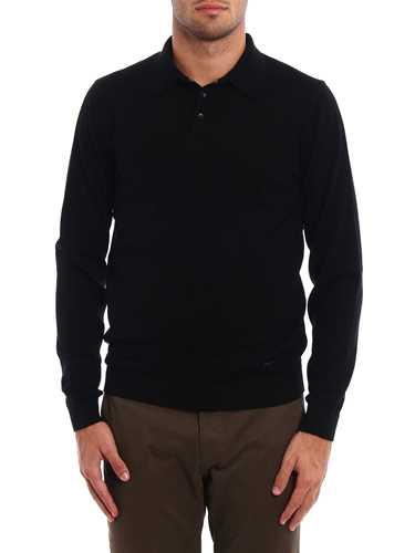 Picture of ARMANI | Polo Neck Wool Sweater