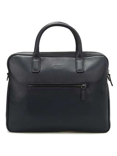 Picture of ARMANI | Leather Laptop Bag