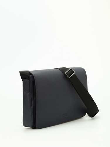 Picture of ARMANI | Leather Messenger Bag