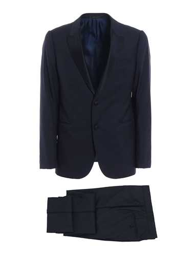 Picture of ARMANI | Jacquard Wool Tuxedo Suit