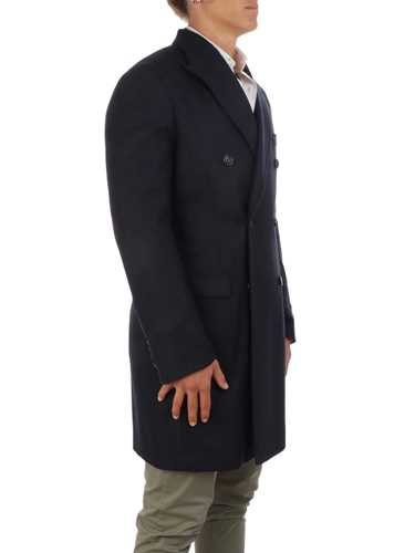 Picture of BARBA | Men's Virgin Wool Double-Breasted Coat