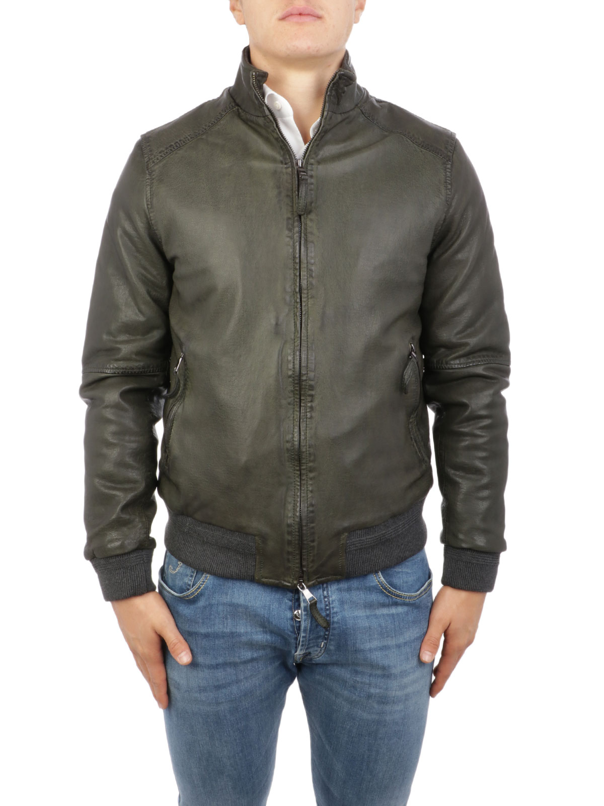 Immagine di THE JACK LEATHERS | Giacca Uomo in Pelle Antoine