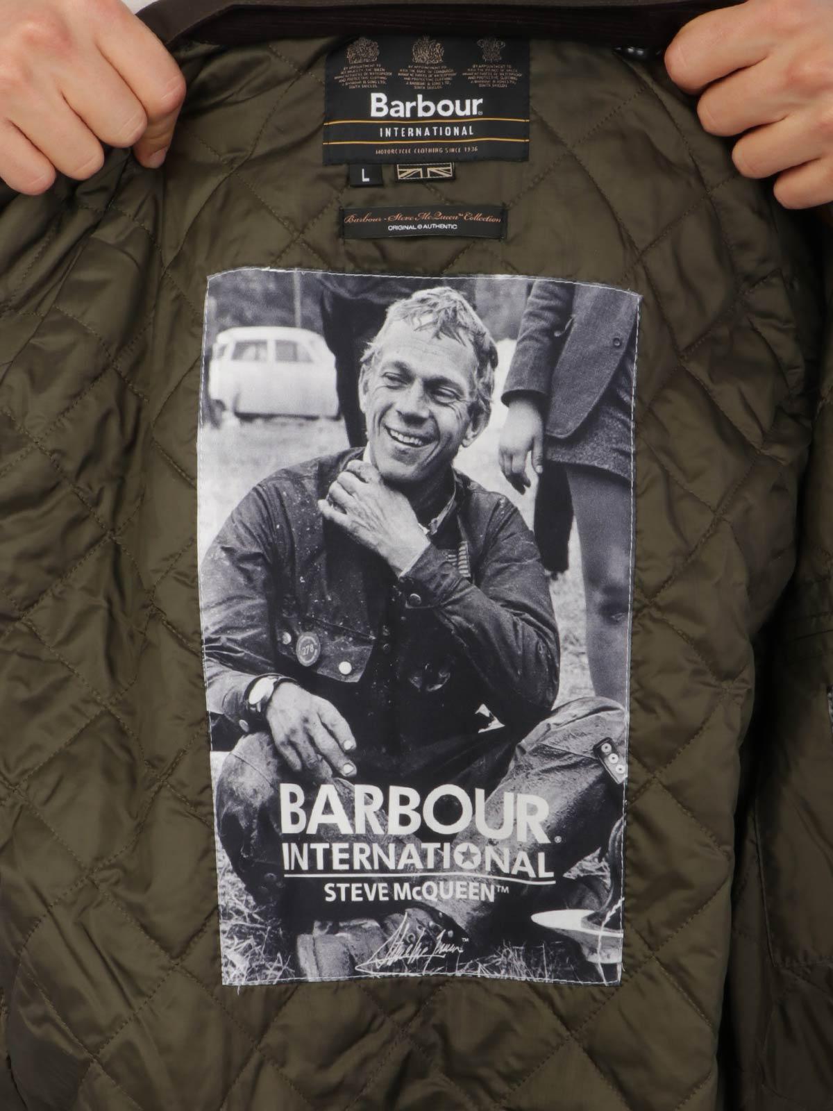 Picture of Barbour | Giubbotti Merchant Steve Mcqueen