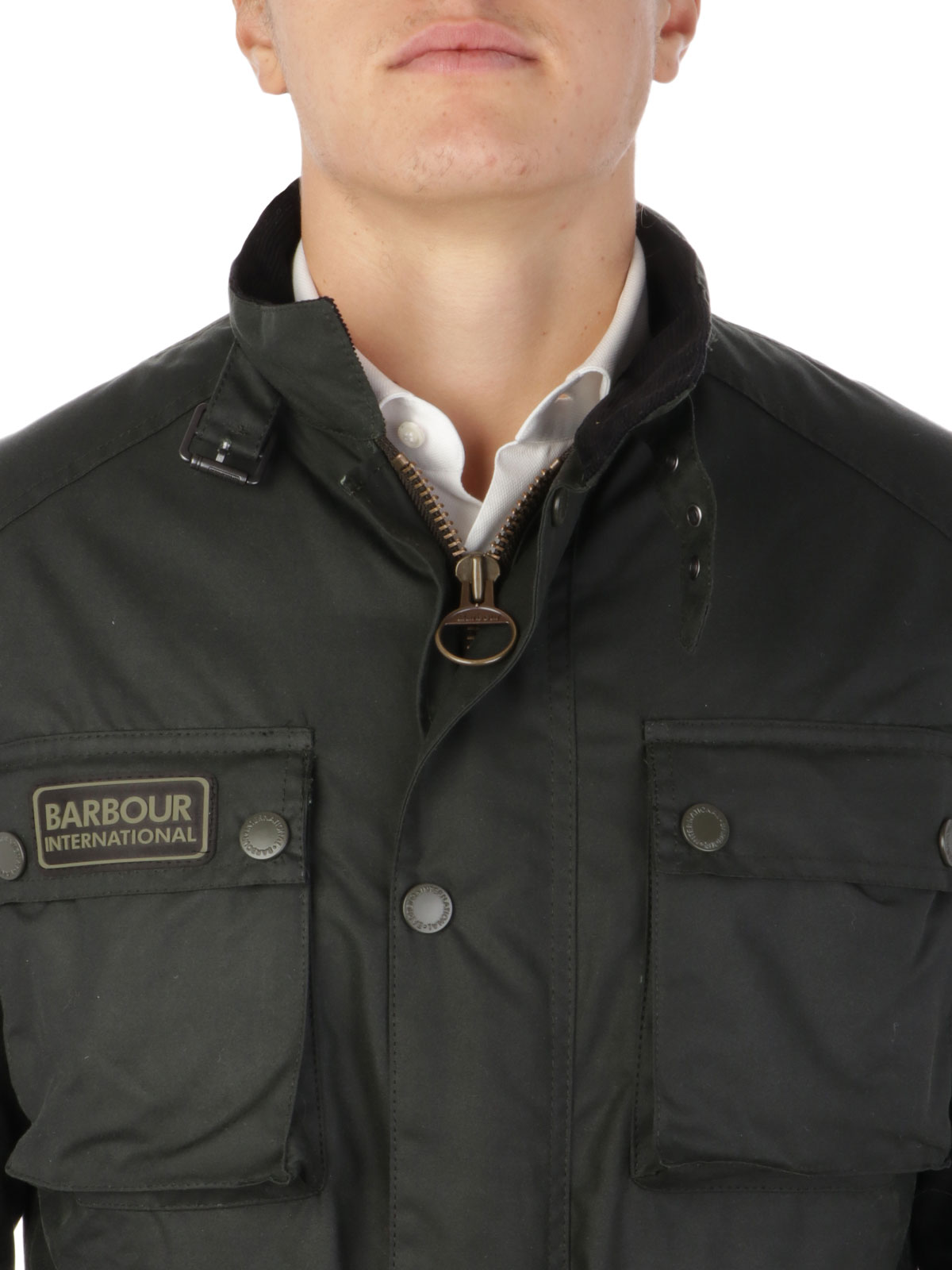 Picture of BARBOUR | Men's Blackwell Slim Fit Wax Jacket