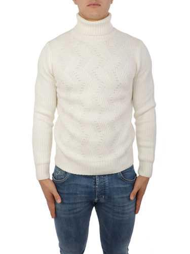 Picture of BARBA   Men's Virgin Wool Turtleneck Sweater